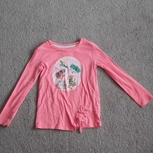 Cat and Jack girls long sleeve tshirt size xs